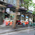 Fast Paced City Life - Bangkok Thailand - 01132 by DC Photographer