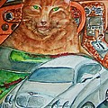 Fat Cat And The Bentley by Elaine Duras