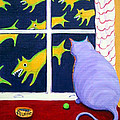 Fat Inside Cat - Why Fluffie Can Not Possibly Go Out by Rebecca Korpita