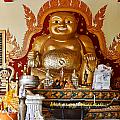 Fat Gold Budda by Linda Phelps