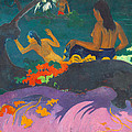 Fatata Te Miti.by The Sea by Paul Gauguin
