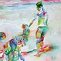 Father And Children by Fabrizio Cassetta