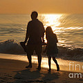 Father And Daughter by Jeff Breiman
