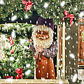 Father Christmas In The Snow by Bridget Jones