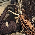 Father Father Tell Me What Ails Thee With Dismay Thou Art Filling Thy Child by Arthur Rackham
