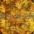 Father's Day Greeting Card Iv by Debbie Portwood