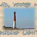 Father's Day Greetingcard - Guiding Light by Mother Nature