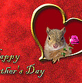 Father's Day Squirrel by Jeanette K