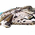 Millenium Falcon by Helge