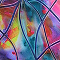 Faux Stained Glass II by Kim Shuckhart Gunns