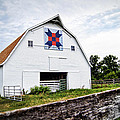 Fayette Farmers Daughter Quilt Barn by Cricket Hackmann