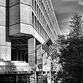 Fbi Building Modern Fortress by Olivier Le Queinec