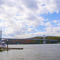 Fdr Mid Hudson Bridge - Poughkeepsie Ny by Bill Cannon