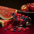 Feast Of Red Still Life by Tom Mc Nemar