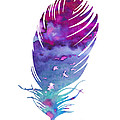 Feather 4 by Watercolor Girl