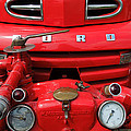 Featured Old Ford  Front On Fire Engine Denmark  by Colette V Hera  Guggenheim