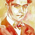 Federico Garcia Lorca Portrait by Fabrizio Cassetta