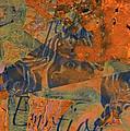 Feel Emotion Orange And Green by Deprise Brescia