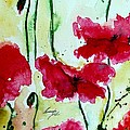 Feel The Summer 2 - Poppies by Ismeta Gruenwald