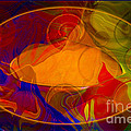 Feeling At Home With Uncertainty Abstract Healing Art by Omaste Witkowski