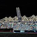 Felixstowe Glow 004 by Alan Waters