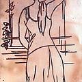 Female Enamel On Copper by Prajakta P