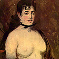 Female Nude by Edouard Manet