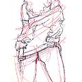 Female.erotic.drawings 13 by Gordon Punt