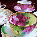 Feminine High Society Ladies Tea Party by Kathy Clark