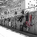 Fence At The Oklahoma City Bombing Memorial by Beverly Stapleton
