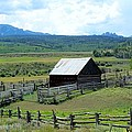 Fence Barn by Nelson Skinner