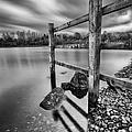 Fence In The Loch  by John Farnan