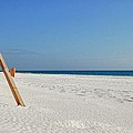 Fence On The Beach by Michael Thomas