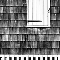 Fence Shutter And Weathered Wall by Gary Slawsky