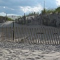 Fenced Dune by Christiane Schulze Art And Photography