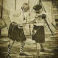 Fencing Practice by Priscilla Burgers