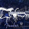Fender Blueprint Washout by Gary Bodnar