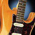 Fender Stratocaster Electric Guitar Natural by John Cardamone