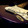 Fender Stratocaster In Blue by Curtis Cabana