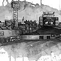 Fenway Bw by Michael  Pattison