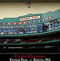 Fenway Memories - Poster 2 by Stephen Stookey