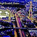 Fenway Park Baseball Night Game Digital Art by A Gurmankin