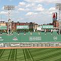 Fenway Park Green Monster 1 by Kathy Hutchins