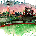Fenway Park by Michael  Pattison