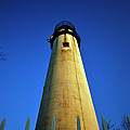Fenwick Island Lightouse And Blue Sky by Bill Swartwout Fine Art Photography