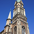 Ferencvaros Church Tower In Budapest by Artur Bogacki