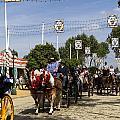 Feria Parade Seville by Lorraine Devon Wilke