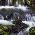 Fern Falls - 31 by Paul W Faust -  Impressions of Light