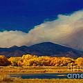 Fern Lake Fire by Jon Burch Photography