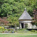 Fernwood Botanical Garden Stone Herb House Usa by Sally Rockefeller